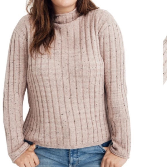 Madewell Sweaters - Madewell | Donegal Evercrest Turtleneck Sweater